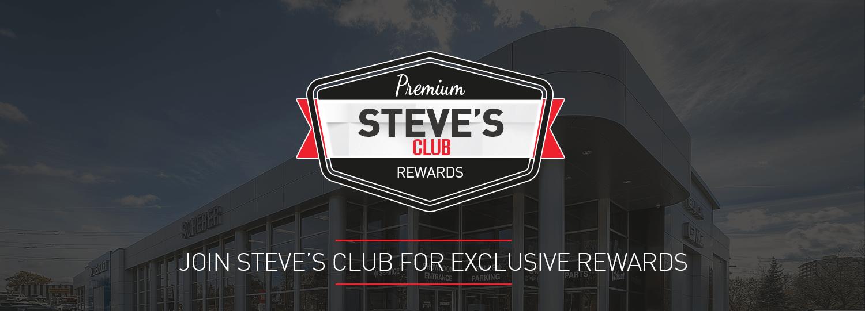 steve's club banner