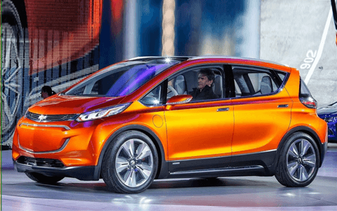 2018 Chevrolet Bolt Electric Vehicle
