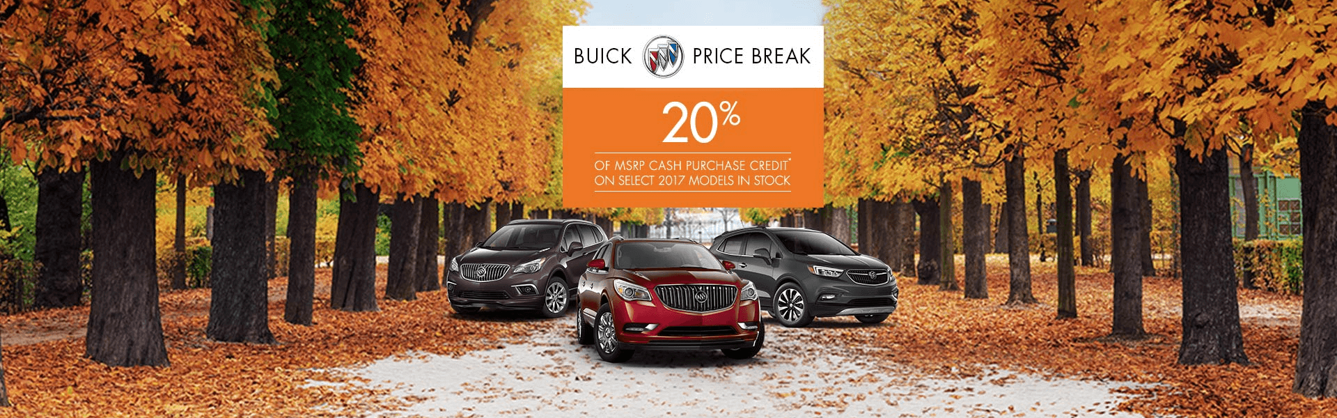 Buick 20% OFF MSRP