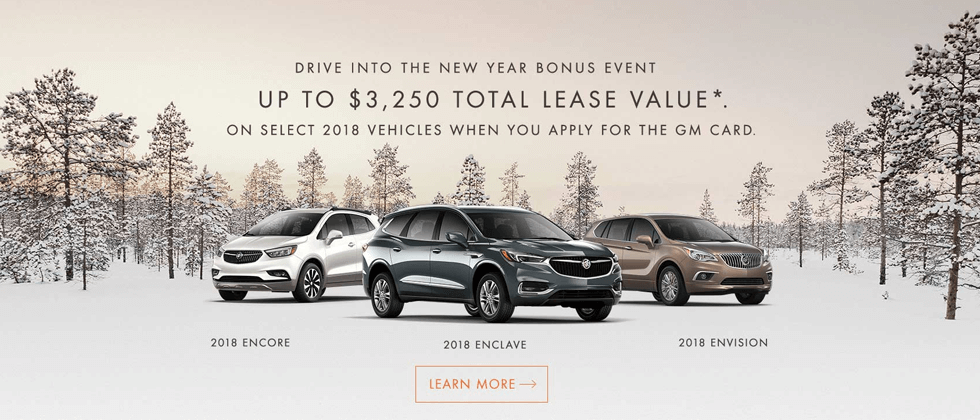 View Eligible Buick Vehicles