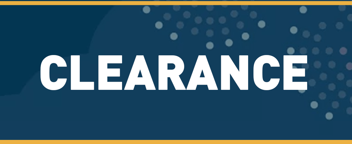 2017 Clearance Extended