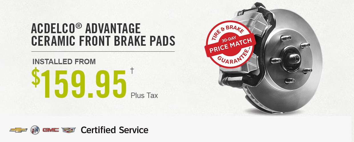 ACDELCO Advantage Ceramic Front Brake Pads