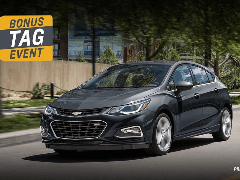 2018 Chevrolet Cruze Hatch - Grey