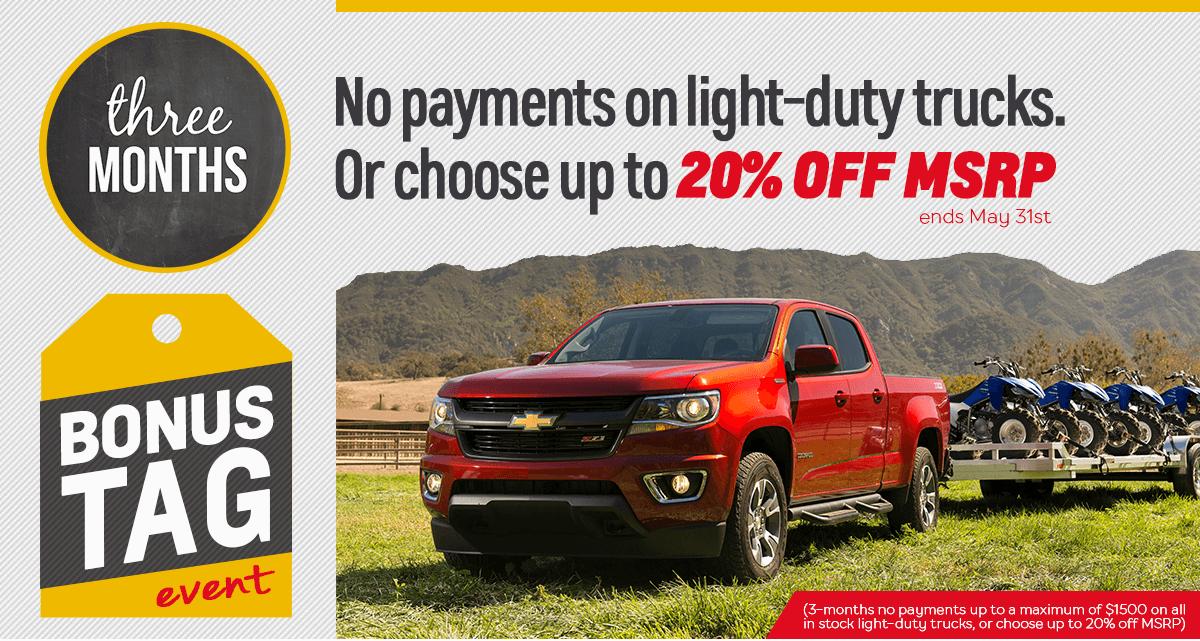 Light-Duty Truck Deals