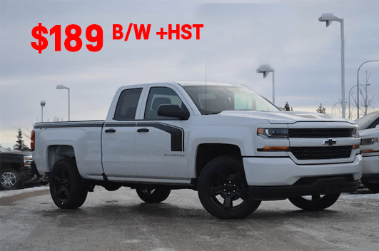 2018 Chevrolet Silverado 1500 Custom Double Cab