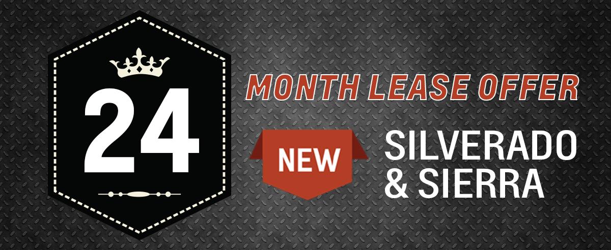 Sierra & Silverado 24 Month Lease
