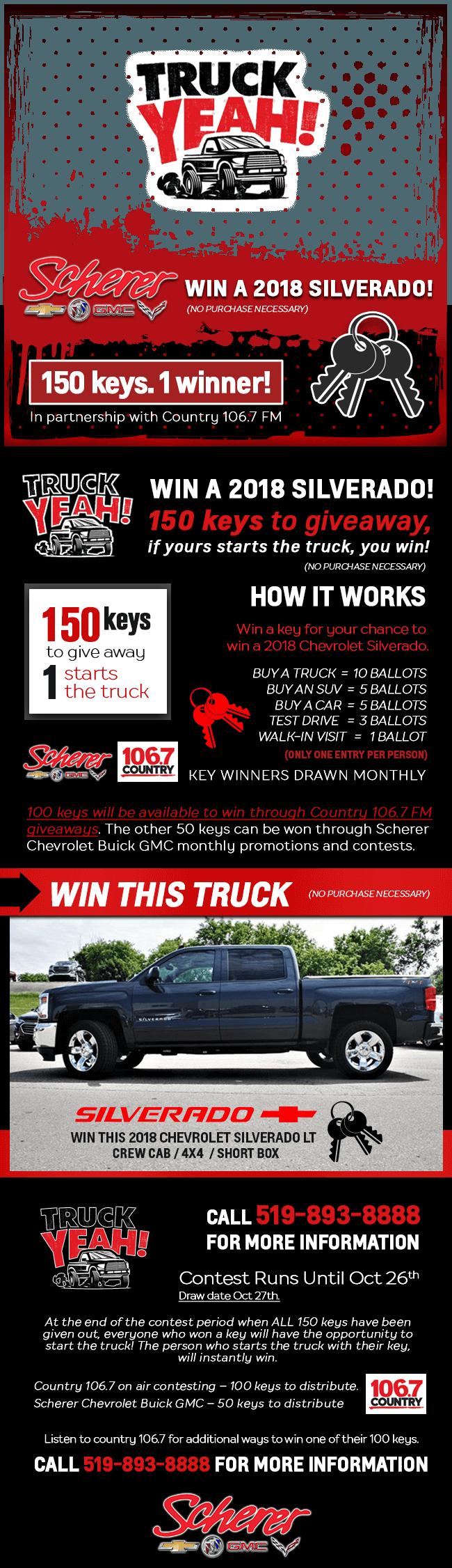 Truck Yeah Contest Details