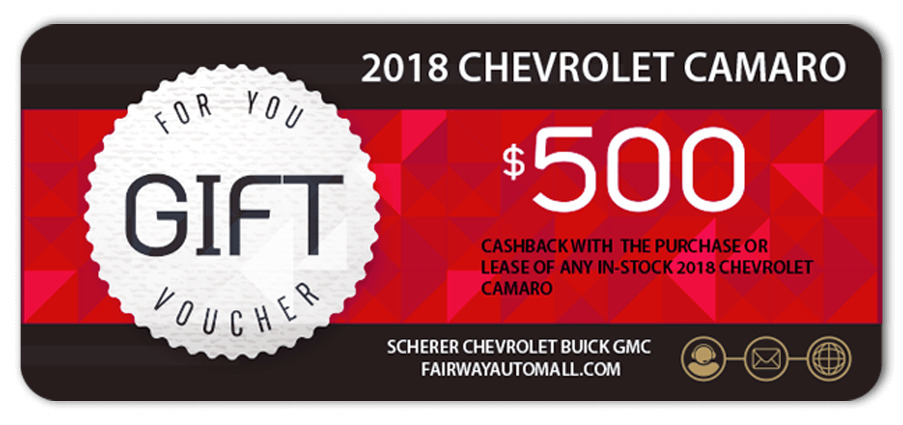 2018 Camaro Offer