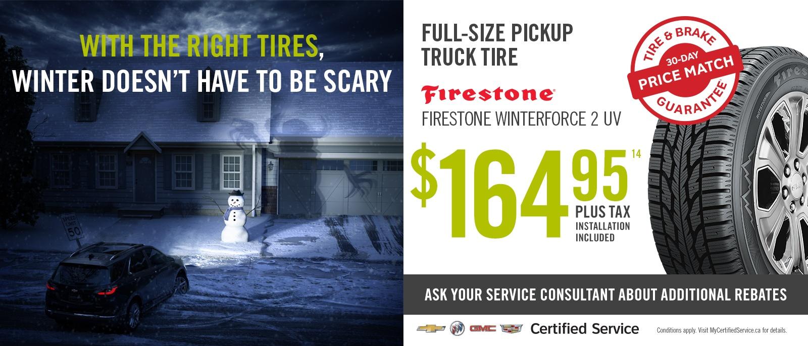 Full-Size Truck Tires
