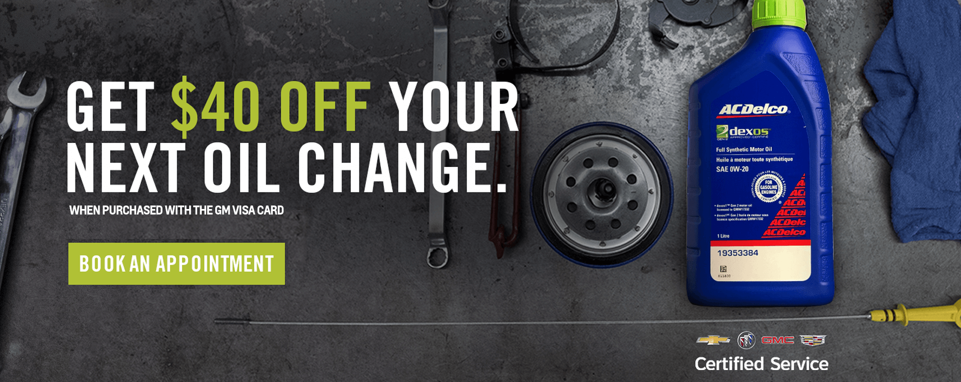 Save $40 Off Your Next Oil Change