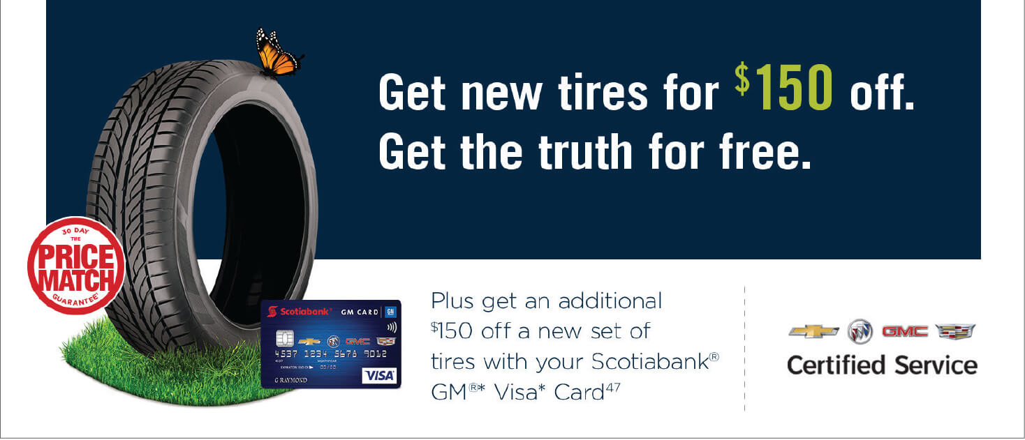$150 Off New Tires