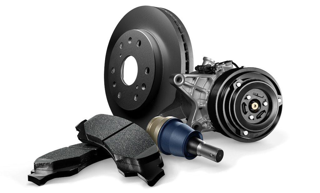 ACDelco Professional Brake Pads & Advantage Coated Rotors