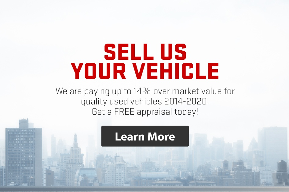 Sell Us Your Used Vehicle